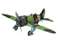 "Revell 1/32 Polikarpov I-16 Type 24 ""Rata"" - Scale Model Kit"