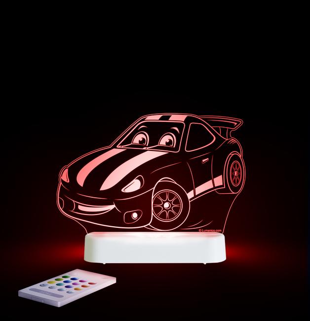 Aloka: Night Light - Race Car