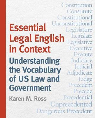 Essential Legal English in Context by Karen M. Ross image
