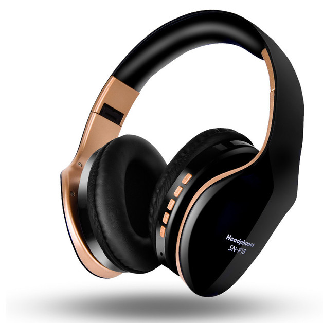 Ape Basics: Noise Isolating Headphones With Mic - Black