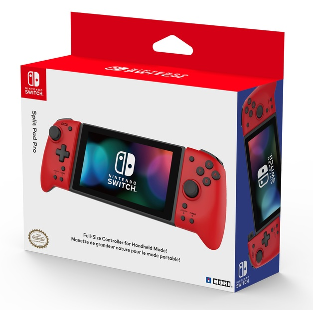 Switch Split Pad Pro (Red) by Hori for Switch