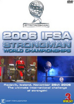 2006 IFSA Strongman World Championship (3 Disc Box Set) on DVD
