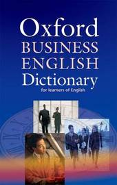 Oxford Business English Dictionary for learners of English image