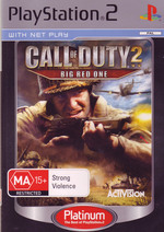 Call of Duty 2: Big Red One (Platinum) for PS2
