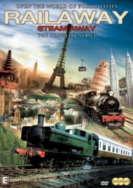 Railaway: Steam Away The Series on DVD