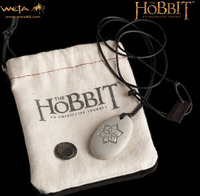 The Hobbit An Unexpected Journey Stone Pendant - Ring of Galadriel