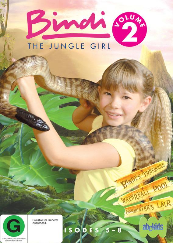 Bindi - The Jungle Girl: Vol. 2 on DVD