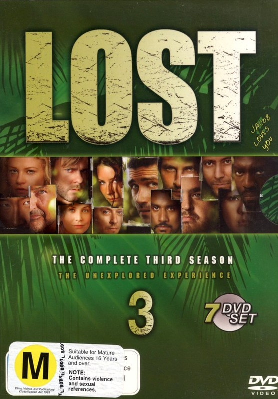 Lost - The Complete 3rd Season: The Unexplored Experience (7 Disc Box Set) on DVD