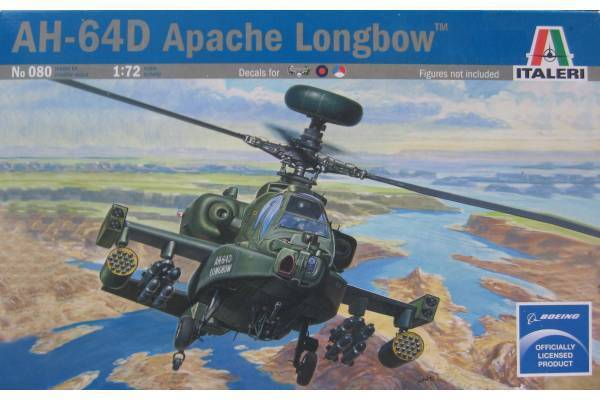 Italeri AH-64D Apache Longbow 1:72 Model Kit