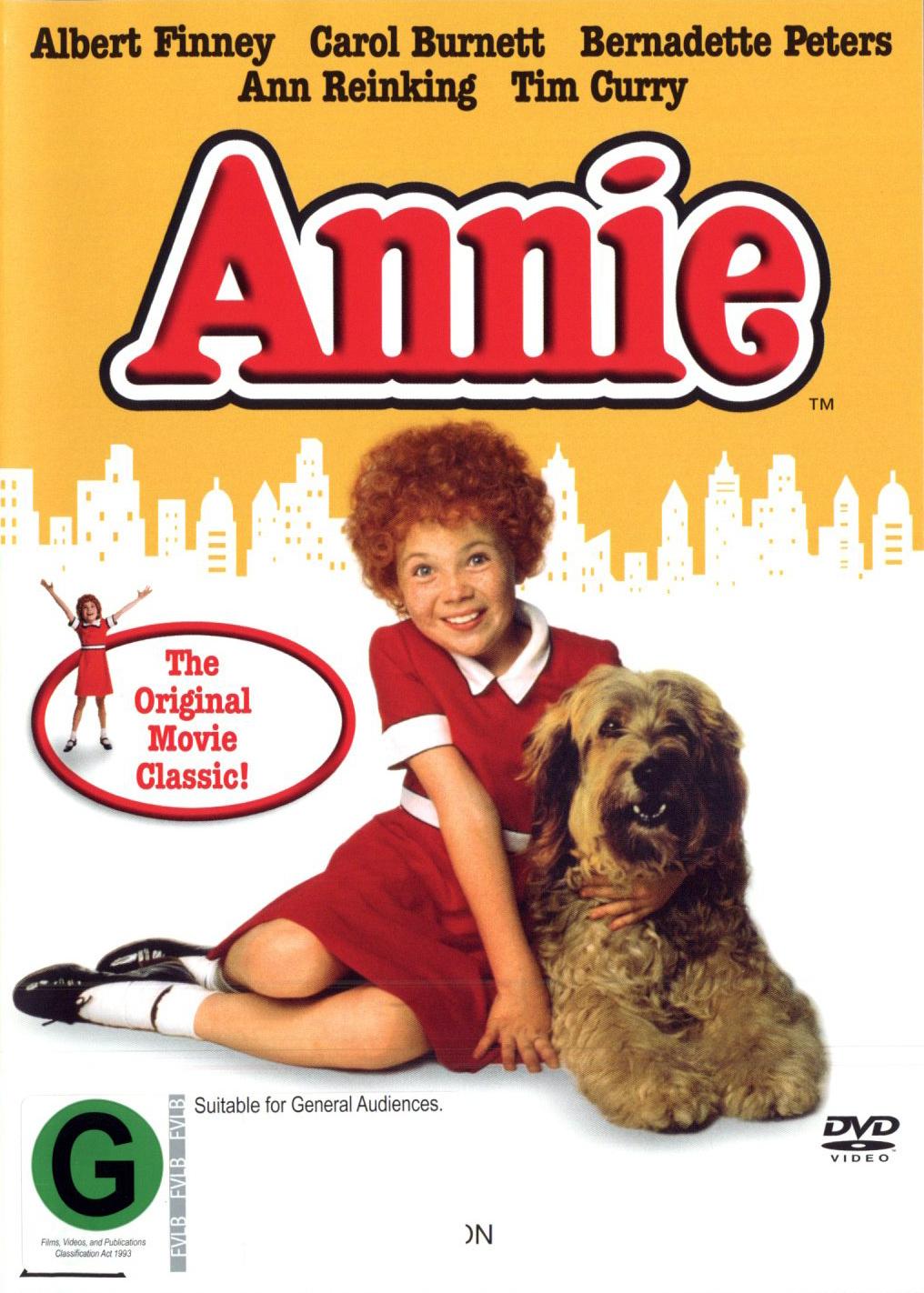 Annie on DVD image