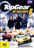 Top Gear: The Challenges 6 on DVD