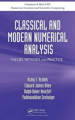 Classical and Modern Numerical Analysis by Azmy S. Ackleh