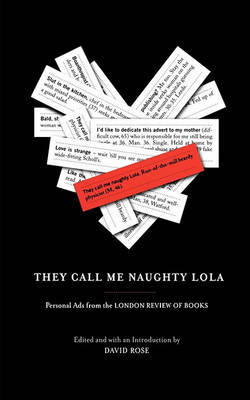 They Call Me Naughty Lola by David Rose