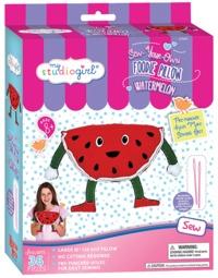 My Studio Girl: Foodie Pillows - Watermelon Sewing Kit