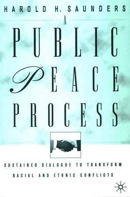 A Public Peace Process by H. Saunders image
