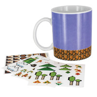 Super Mario Bros. - Build A Level Mug