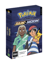 Pokemon The Series: Sun & Moon Complete Collection on DVD