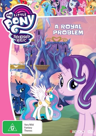 My Little Pony: Friendship Is Magic: A Royal Problem on DVD image