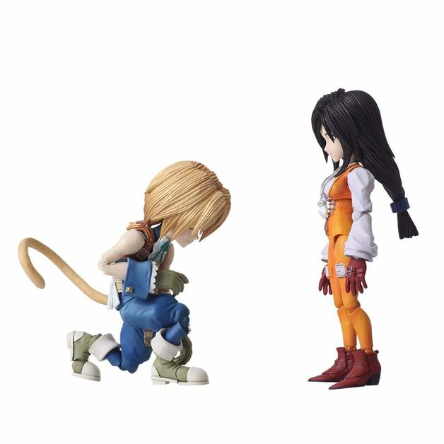 Final Fantasy IX: Zidane & Garnet - Bring Arts Figure