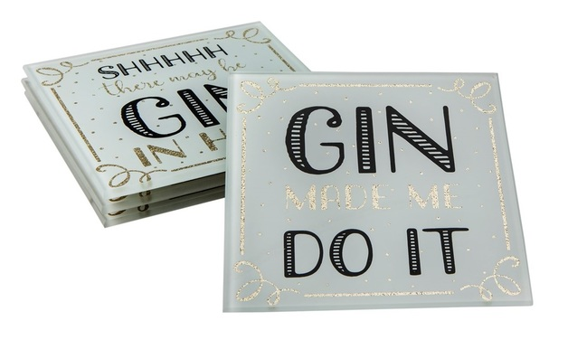 Sass & Belle: Gin Time - Coasters Set (Set of 4)