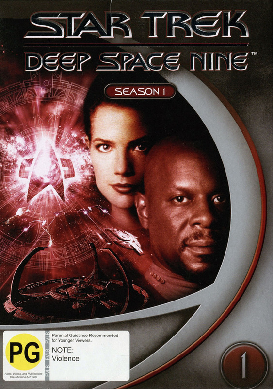 Star Trek: Deep Space Nine - Season 1 (New Packaging) on DVD