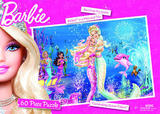 Barbie Mermaid 60 Piece Jigsaw Puzzle - Celebrating Queen Calissa