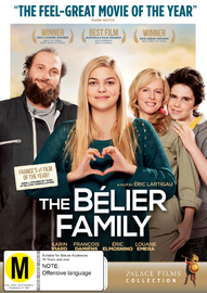 The Belier Family on DVD