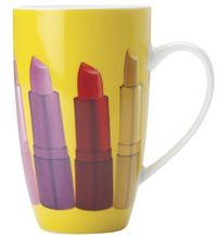 Maxwell & Williams - Christopher Vine Pout Coupe Mug - Yellow (420ml)