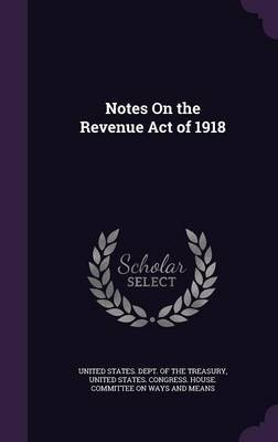Notes on the Revenue Act of 1918 image