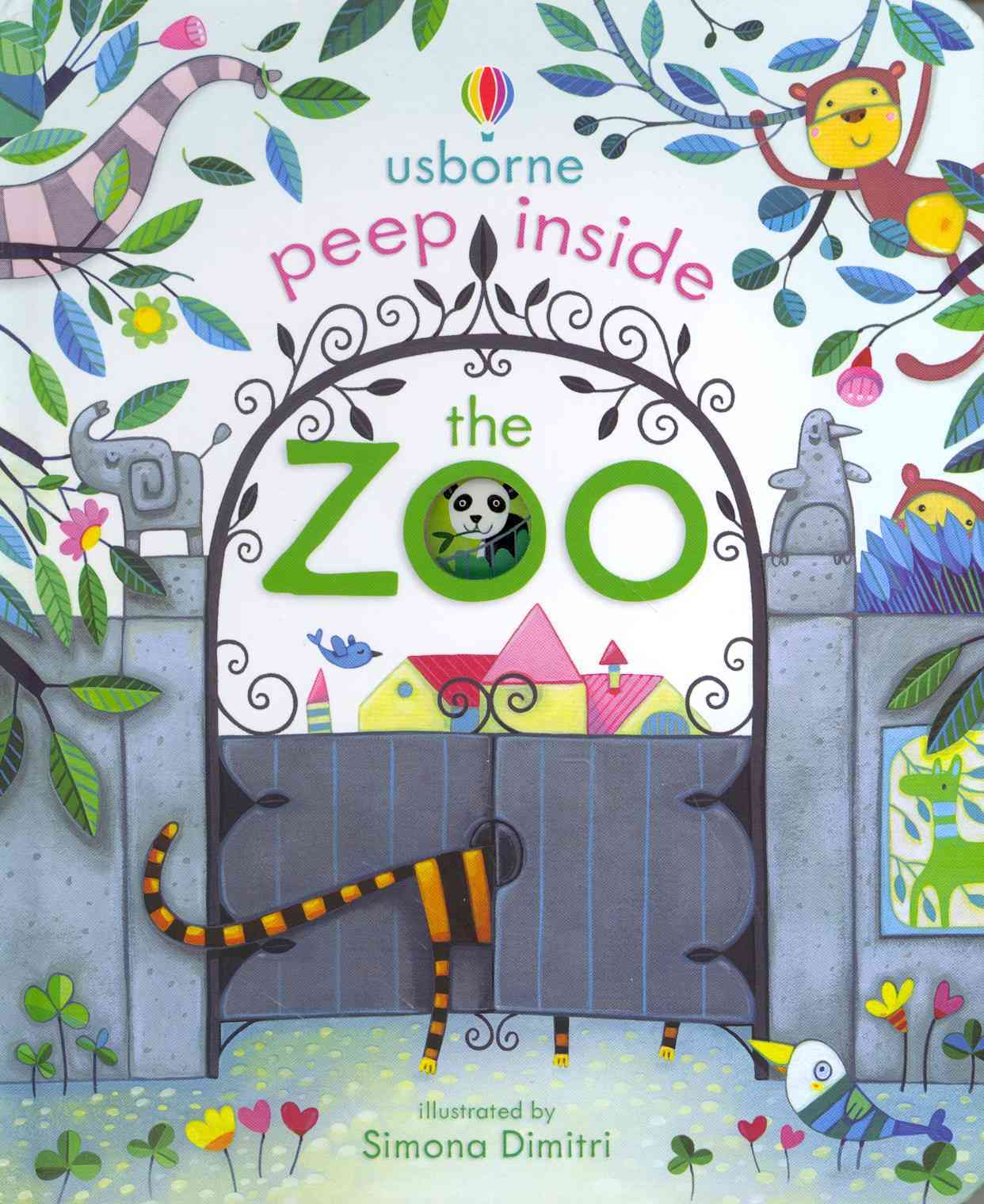 Peep Inside The Zoo by Anna Milbourne image