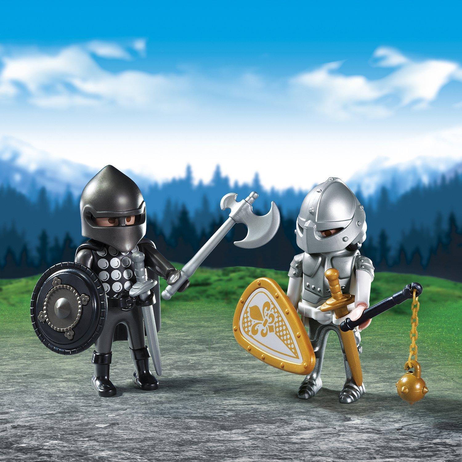 Playmobil: Knights' Rivalry Duo Pack image