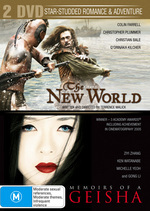 New World / Memoirs Of A Geisha (2 Disc Set) on DVD