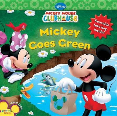 Mickey Goes Green by Susan Ring image