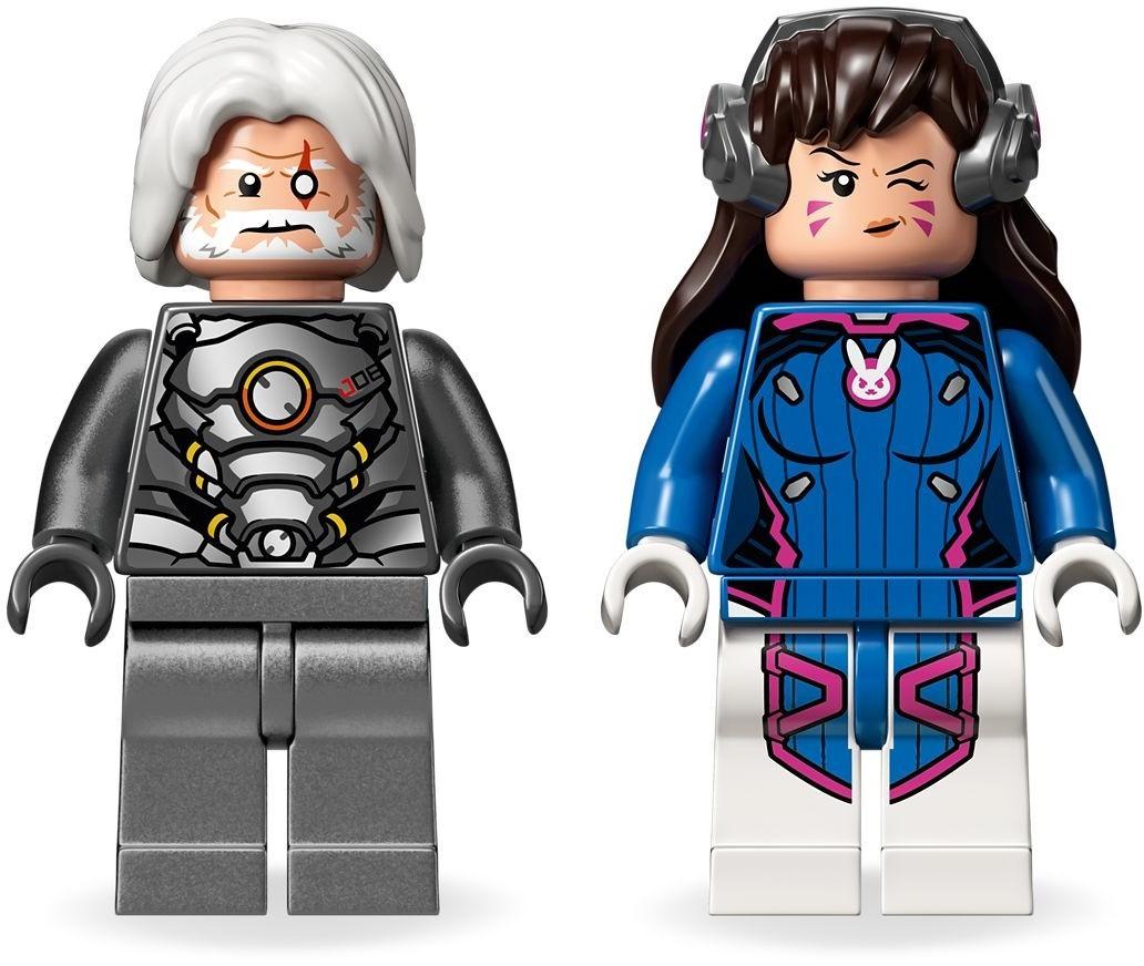 LEGO Overwatch - D.Va & Reinhardt (75973) image