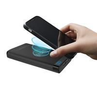 Cygnett: ChargeUp Swift 10k Wireless Power Bank - Black