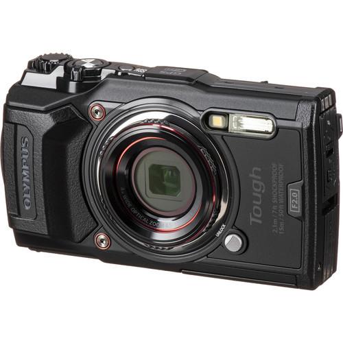 Olympus: Tough TG-6 - Digital Camera (Black)