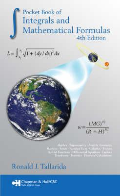 Pocket Book of Integrals and Mathematical Formulas by Ronald J Tallarida image