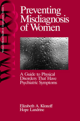 Preventing Misdiagnosis of Women by Elizabeth Adele Klonoff image