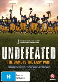 Undefeated on DVD