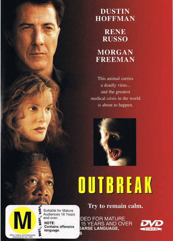 Outbreak on DVD