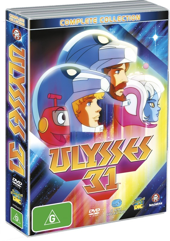 Ulysses 31 - Complete Collection (4 Disc Box Set) on DVD