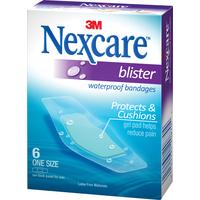 Nexcare Waterproof Blister Plasters (6pk)