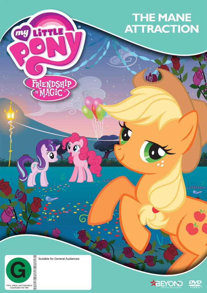 My Little Pony: Friendship Is Magic - The Mane Attraction on DVD image