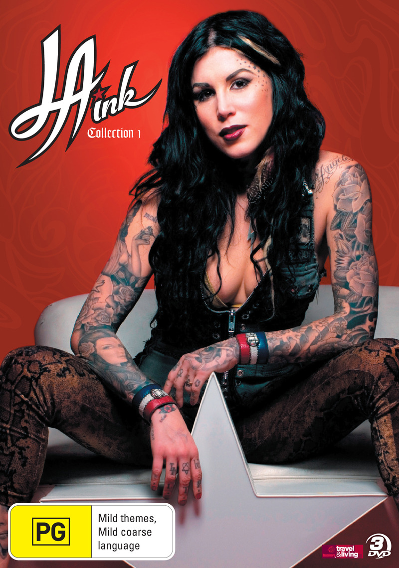 LA Ink - Collection 1 (Discovery Channel) (3 Disc Set) on DVD image