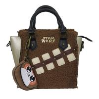 Star Wars Episode 8 Chewie and Porg Mini Brief Handbag