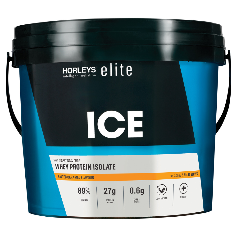 Horleys ICE Whey Protein Isolate - Salted Caramel (2.5kg) image