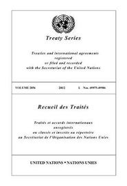 Treaty Series 2856 (English/French Edition) image