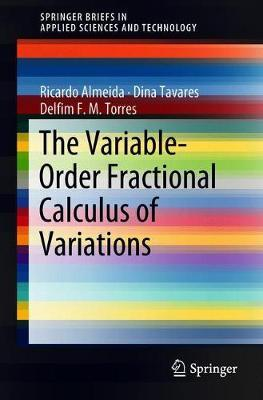 The Variable-Order Fractional Calculus of Variations by Ricardo Almeida