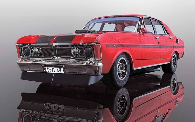 Scalextrix: Ford Falcon 1970 - Candy Apple Red