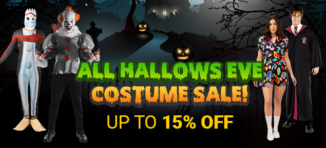 All Hallows Eve Costume Sale!